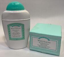 Perlier White Almond Scent Set Of Bath Shower Cream Wash & Body Cream