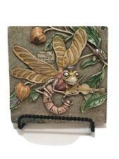 Harmony Kingdom Picturesque Martin's Minstrels Byron'S Garden Tile Plaque