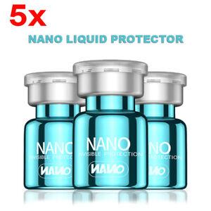 5Bottle 2ml Hi-Tech NANO Liquid Glass Screen Protector Oleophobic Coating lot
