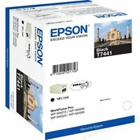 Original Epson T7441 schwarz WorkForce Pro WP-M4015 M4095 M4525 M4595 OVP 1/2019