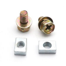 Scooter ATV DIRT BIKE Battery Terminal Nut and Bolt Kit M5x10mm Fit Universal