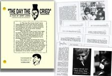 THE DAY THE CLOWN CRIED : SCRIPT OF UNRELEASED JERRY LEWIS HOLOCAUST MOVIE