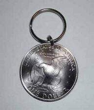 Eisenhower Silver Dollar key ring