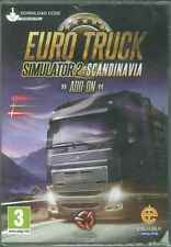 Euro Truck Simulator 2: Scandinavia Add-on Sweden, Norway, Denmark Roads PC Sim