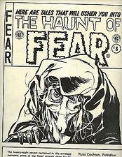 The Haunt of Fear 28 Cover Portfolio Russ Cochran 1985 nm-m