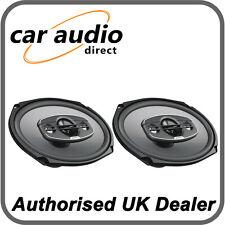 """Hertz UNO X690 4-way 6""""x9"""" Car Audio 4Ω Coaxial Speakers Door Rear Shelf 340W"""