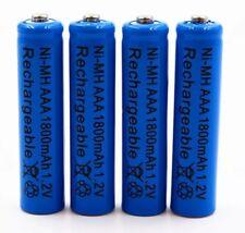 4 piles AAA LR03 rechargeables Ni-MH 1800mAh 1,2 V dans blister Envoi de France