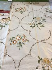 REMNANT Off Cut Colefax & Flower Cushions Blinds Curtains 63x113cm RRP£83.00