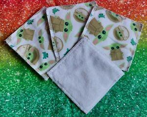 Baby Yoda  Grogu Eco Friendly Reusable Makeup Remover Pads