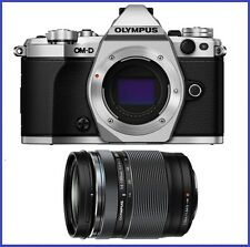 Olympus OM-D E-M5 Mark II Silver Digital Camera with 14-150mm f/4-5.6 II Lens