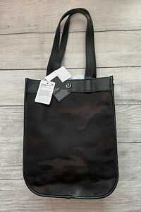 NWT Lululemon Now And Always Tote Mini HCMX/BLK Heritage Camo Brown Earth Black
