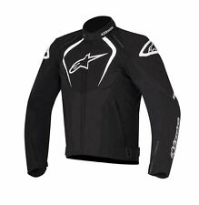 New Alpinestars T- Jaws WP Black Drystar Waterproof Textile Jacket