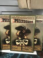 Havok and Wolverine  Meltdown 4 NM - LOT OF 3 BOOKS..STORE STOCK..