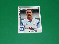 PANINI FOOTBALL FOOT 90 N°203 NENAD STOJKOVIC FC MULHOUSE ALSACE 1989-1990