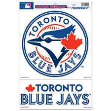 "TORONTO BLUE JAYS LOGO ULTRA DECALS 11""X17"" BRAND NEW FREE SHIPPING"