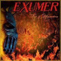 Fire & Damnation EXUMER CD ( FREE SHIPPING)