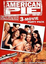 American Pie Party Pack: 3 Movie Collection (DVD, 2012, 3-Disc Set, Unrated)