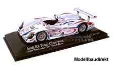 Audi r8 ALMS Petit Le Mans 2001 HERBERT Wallace 1:43 MINICHAMPS 400010938 neu&ov