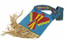 Native American Bandolier Ceremonial Bag Beaded Ojibwe Chippewa Cherokee