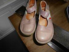 PAIRE DE Kickers Vintage vieux rose beige type sandales t 39 be a 25€ ach imm fp
