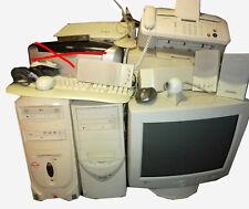Stock processori,stampanti,mouse,tastiere,casse,monitor,fax,web cam PER PC USATI