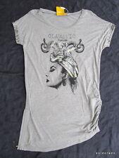 BIBA camicia lunga serie argento con seitl. CERNIERA TAGLIA S NUOVA