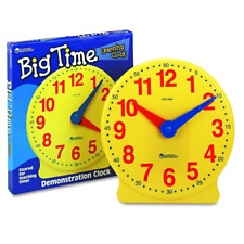 Learning Resources Big Time Clock, 12 Hour
