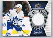 2016-17 SERIES 1 MORGAN RIELLY JERSEY 1 COLOR TORONTO MAPLE LEAFS #GJ-MR GROUP F