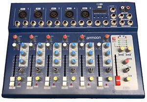 ammoon F7-USB-7-Kanal Mikrofon Line-Audio-Sound-Mixer Mischpult S1C7