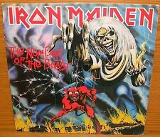 LP Musik Iron Maiden The Number Of The Beast