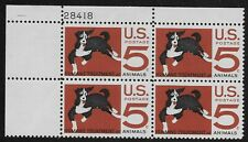 US Scott #1307, Plate Block #28418 1966 Humane Treatment 5c FVF MNH Upper Left