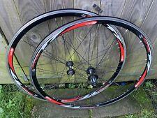 Used Pair Rodi Airline clincher Road Racing Bike Wheels 700c Shimano 9,10 Speed