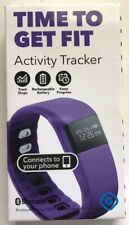 Gems Bluetooth Fitness Activity Tracker Android iPhone Purple