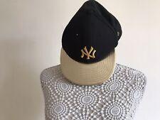 New Era New York Gold And Black 7 1/2 Cap