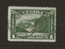 CANADA SG303 $1 Olive Mount Edith Fine Used CDS Cat £35