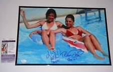 Little Darlings Bikini Signed 12x18 signed Tatum O'Neal & Kristy McNichol JSA