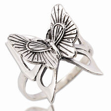 Cool  Butterfly Ring Sterling Silver Size. US=6 UK=L