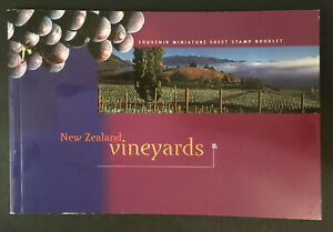New Zealand: 1997, Vineyards, Booklet containing 7 Miniature sheets