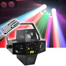 INVOLIGHT VENTUS XL Hybrid LED DMX Flower Strobe Laser Lichteffekt Disco Techno!