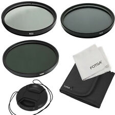 52mm Neutral Density ND2 ND4 ND8 ND 2 4 8 Lens Filter Cap Kit For 52 DSLR Camera