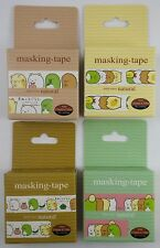 San-x Sumikko Gurashi Decorative Craft Washi Masking Tape Sticker Kawaii Lot B