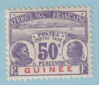 FRENCH GUINEA J13 POSTAGE DUE  MINT HINGED OG * NO FAULTS EXTRA FINE!