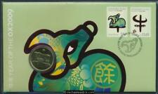 2009 Lunar Year of the Ox Philatelic Numismatic Cover