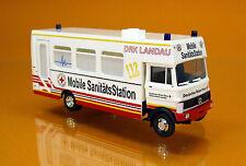 Busch 40705 Mercedes Benz LP809 LKW DRK Mobile Santitätsstation Scale 1 87 NEU