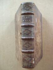 RARE ! LES DEUX PREMIERS LIVRES DES ROIS TRADUITS EN FRANCOIS. Chez DESPREZ 1674