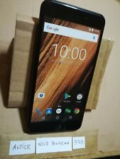 TELEPHONE PORTABLE FACTICE dummy smartphone N°B59 : ALTICE noir - 70x142 mm