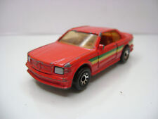 Diecast Matchbox Mercedes 500 SEC 1984 in Red Good Condition