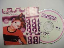 DISCO BABES Ft PATRICIA Car Wash  – 1996 EU CD Card Sleeve – Euro House - RARE!