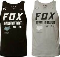 Fox Racing Triple Threat Premium Tank Top - Mens Sleeveless Graphic Tee Shirt MX