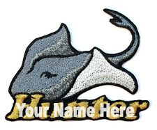 Stingray Custom Iron-on Patch With Name Personalized Free